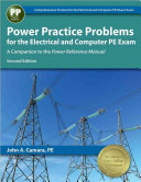 Power Practice Problems For The Electrical And Computer Pe Exam Book PDF