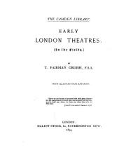 Early London Theatres: In the Fields
