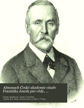Almanach České akademie císaře Františka Josefa pro vědy, slovesnost a umění: Svazek 8