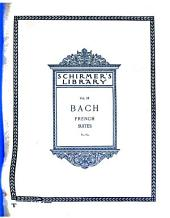 French suites: for the pianoforte