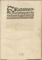 Tractatus de comparatione auctoritatis Pape et Concilii seu Ecclesie universalis