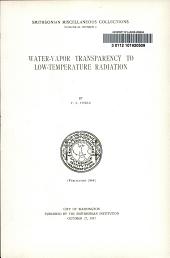 Water-vapor transparency to low-temperature radiation: Volume 68