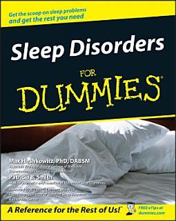 Sleep Disorders For Dummies Book