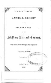 Annual Report of the Fitchburg Rail Road Company