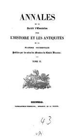 Annales de la Société d'Emulation de Bruges: Volume2