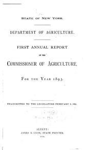 Annual Report: Volume 1