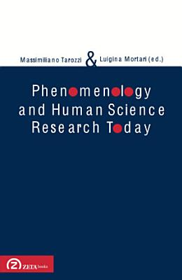 Phenomenology and Human Science Research Today PDF