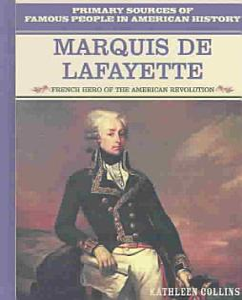 Marquis de Lafayette Book