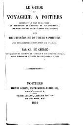 Le guide du voyageur à Poitiers