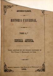 Historia universal: Historia antigua, Volumen 1