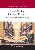 Legal Writing for Legal Readers PDF