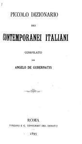 Piccolo dizionario dei contemporanei italiani