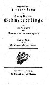 Naturgeschichte der Europ  ischen Schmetterlinge nach systematischer Ordnung PDF