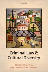 Criminal Law And Cultural Diversity Book PDF