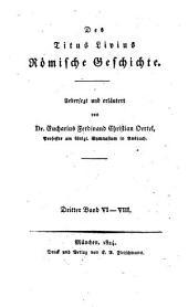 Römische Geschichte: VI - VIII.. 3