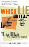 Which Lie Did I Tell  PDF
