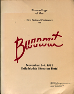 Proceedings  First National Conference on Burnout  Philadelphia  Pennsylvania  November 2 4  1981 PDF