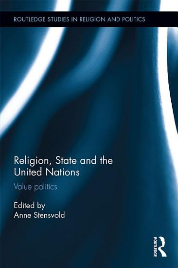 Religion  State and the United Nations PDF