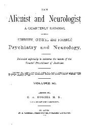 Alienist and Neurologist: Volume 11