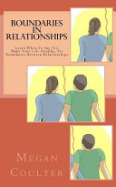 Boundaries in Relationships PDF