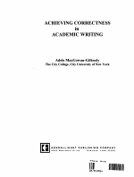 Achieving Correctness in Academic Writing PDF