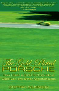 Gold Plated Porsche Book