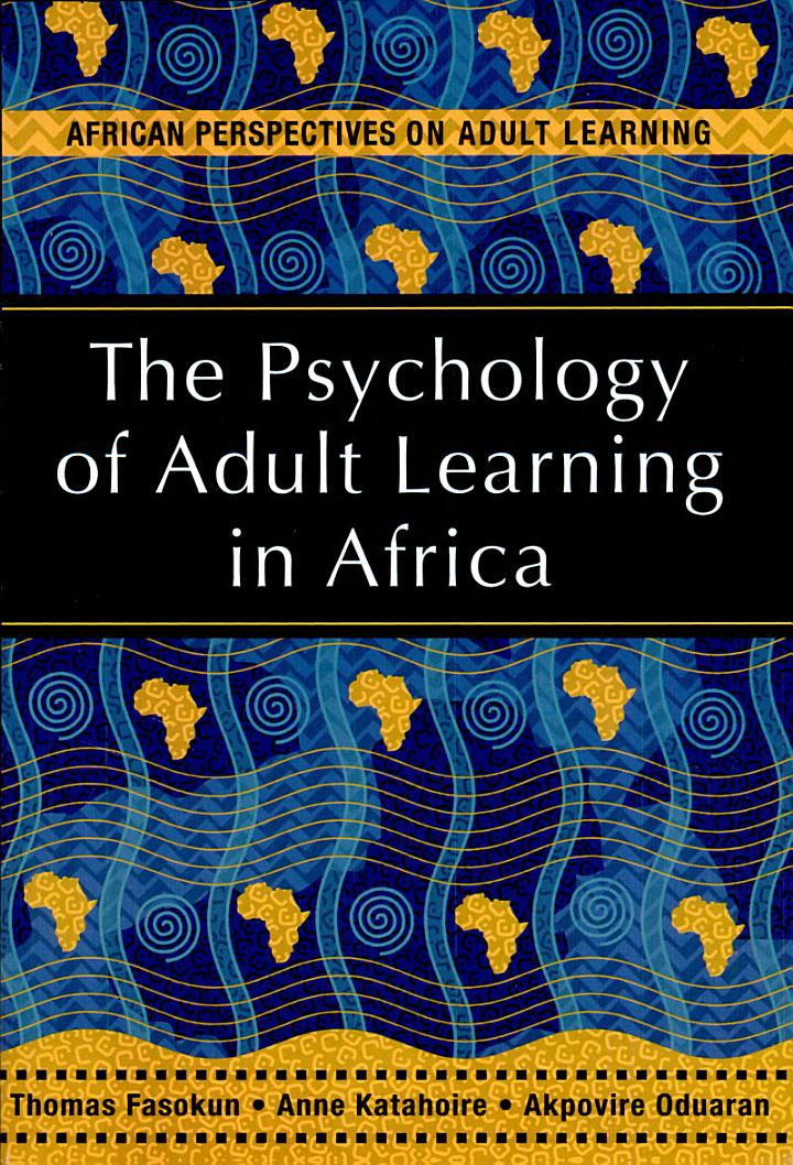 The Psychology of Adult Learning in Africa
