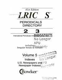 Ulrich s Periodicals Directory 2003 PDF