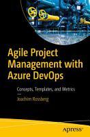 Agile Project Management with Azure DevOps PDF