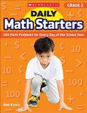 Daily Math Starters  Grade 2