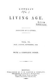 The Living Age: Volume 6