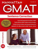 Sentence Correction GMAT Strategy Guide  5th Edition PDF