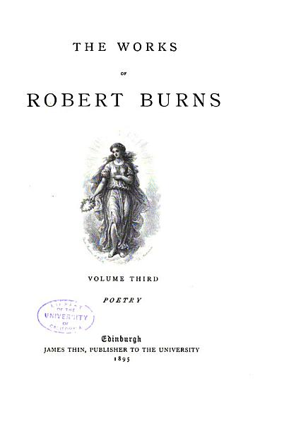 The Works of Robert Burns PDF