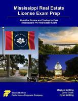 Mississippi Real Estate License Exam Prep PDF