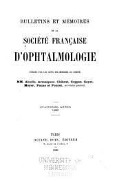 Bulletins et mémoires de la Société française d'ophtalmologie