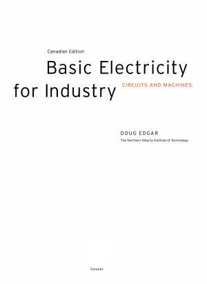 Basic Electricity for Industry PDF