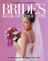 Bride s Book of Etiquette  Revised  PDF