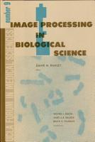 Image Processing in Biological Science PDF