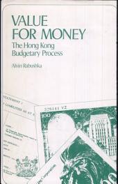 Value for Money: The Hong Kong Budgetary Process