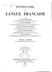 Dictionnaire de la langue française: 1.1.: A-C., Volume1