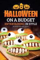 Halloween on a Budget Book