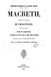 Macbeth: tragedia en cuatro actos
