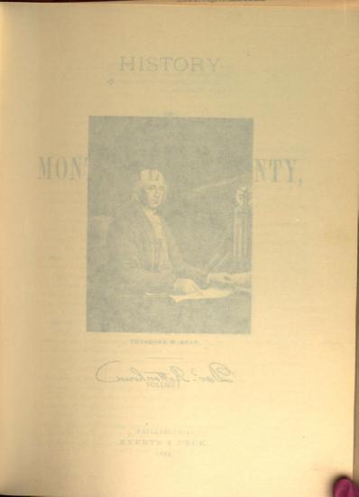 History of Montgomery County  Pennsylvania PDF
