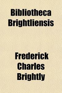 Bibliotheca Brightliensis PDF