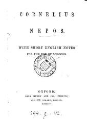 Cornelius Nepos, with short Engl. notes
