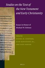Studies on the Text of the New Testament and Early Christianity