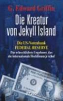 Die Kreatur von Jekyll Island PDF