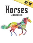Horses Coloring Book New