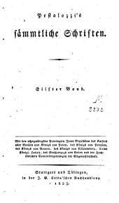 Sämmtliche Schriften: Band 11
