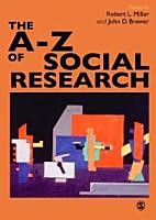 The A Z of Social Research PDF